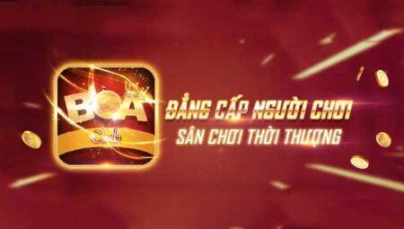 Boa Club – Cổng game nổ hũ đẳng cấpđang được nhiều người săn đón