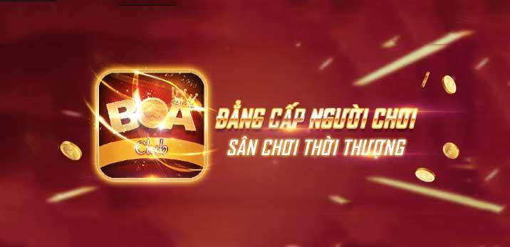 Hình ảnh cổng game Boa Club